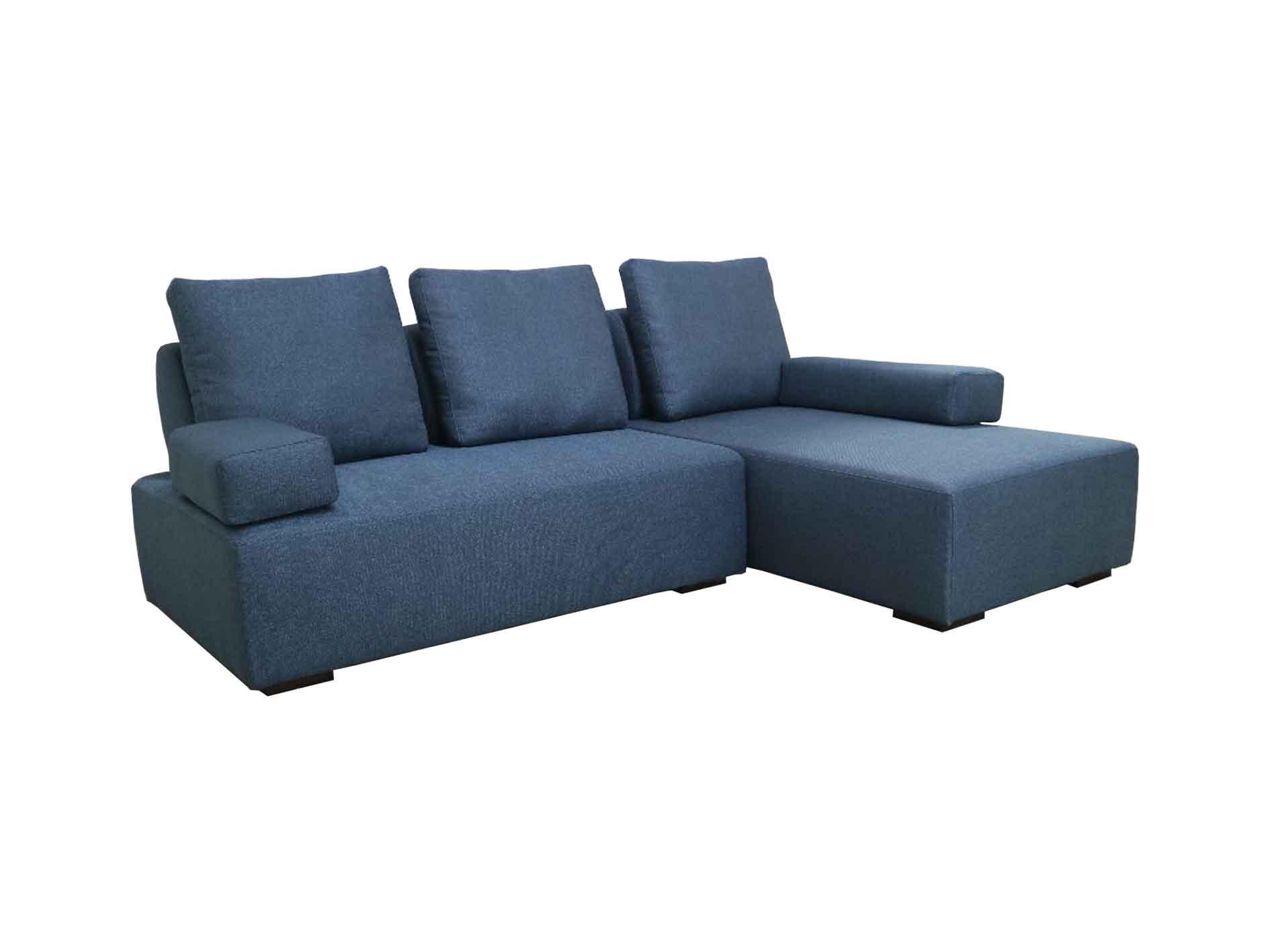 Valerio Designer Italian Fabric Sofa – Volonta – 3 Seater L-shape fabric sofa (2.35M)
