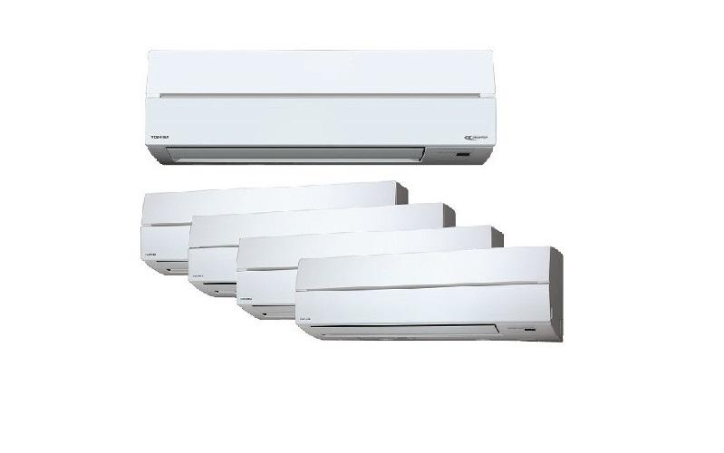 Toshiba Inverter – 4 Ticks System 5  (RAS5M28S3ACV-SG / RASM10SKCV x5)