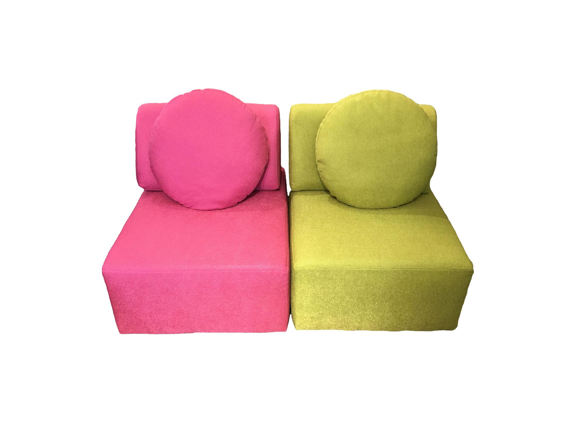 Valerio Designer Italian Fabric Sofa –  Circo/A Modular Sofa L/R