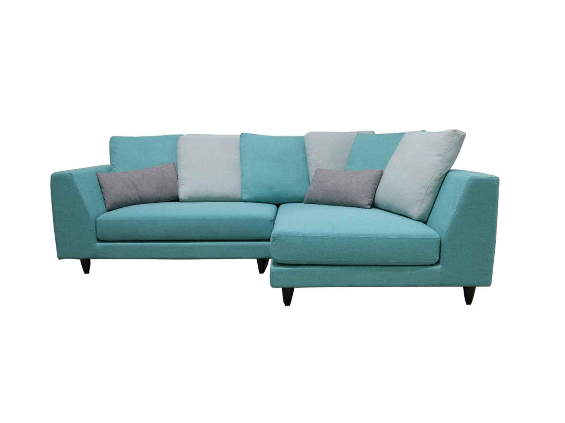 Valerio Designer Italian Fabric Sofa Fiera 3 Seater L