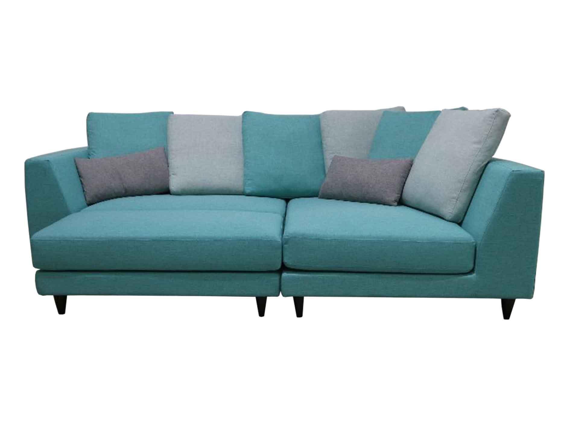 Valerio Designer Italian Fabric Sofa 3536 3 Seater L