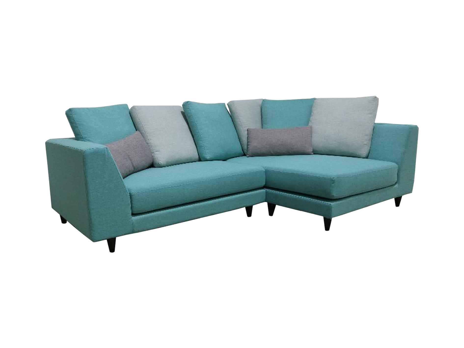 Valerio Designer Italian Fabric Sofa Fiera 4 Seater L