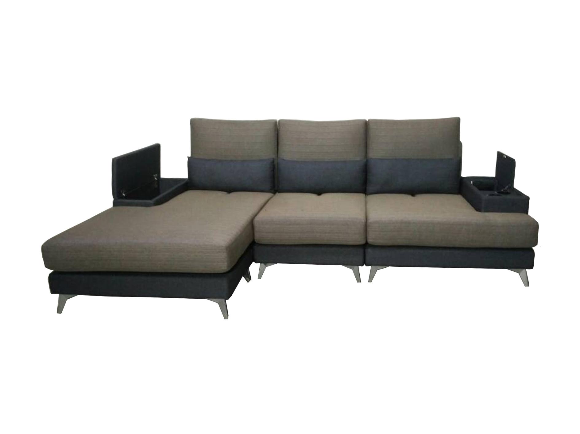 Valerio Designer Italian Fabric Sofa Vicino 4 Seater L