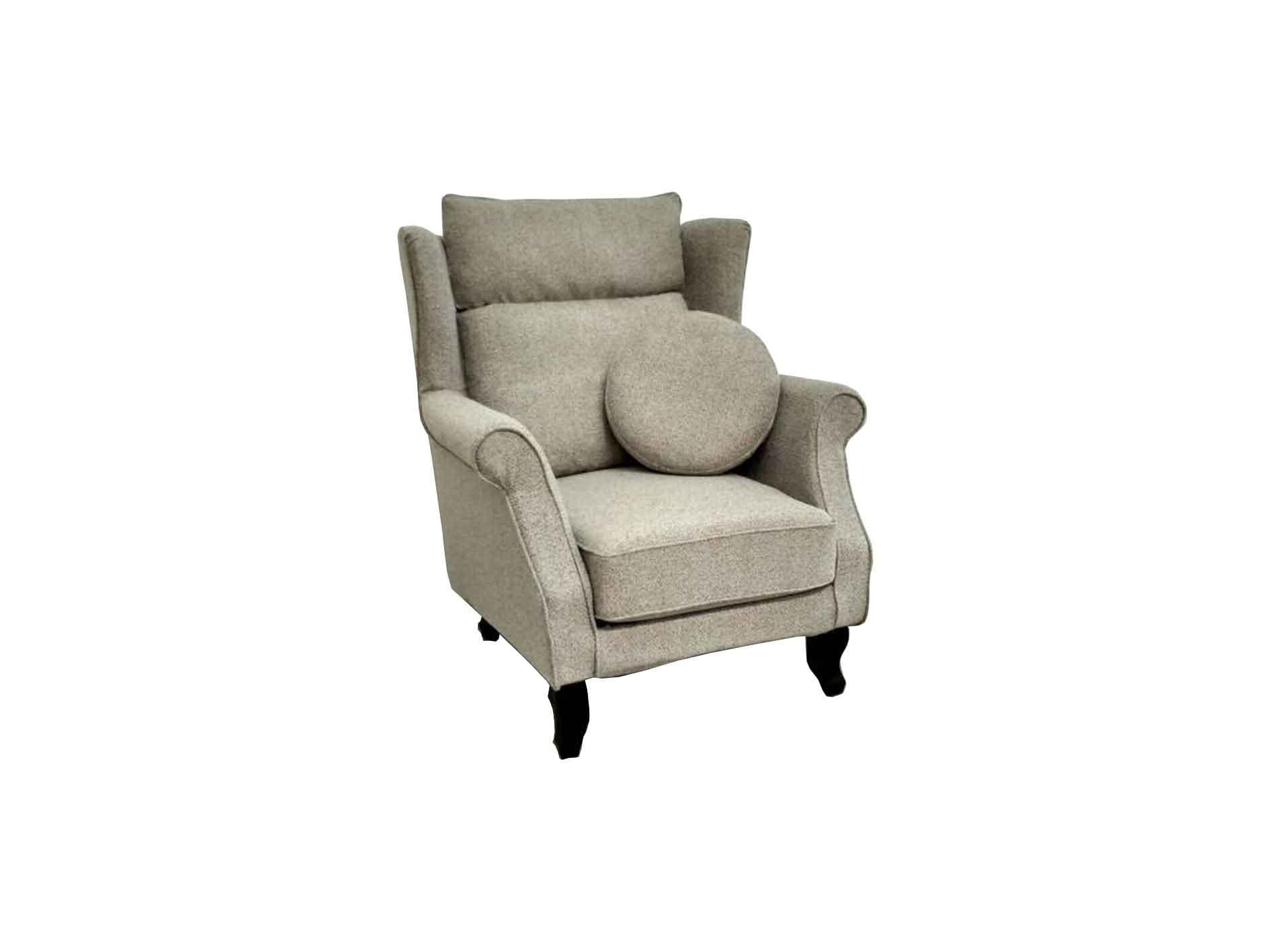 Valerio Designer Italian Fabric Sofa – Fiore -1 Seater fabric sofa (90CM)