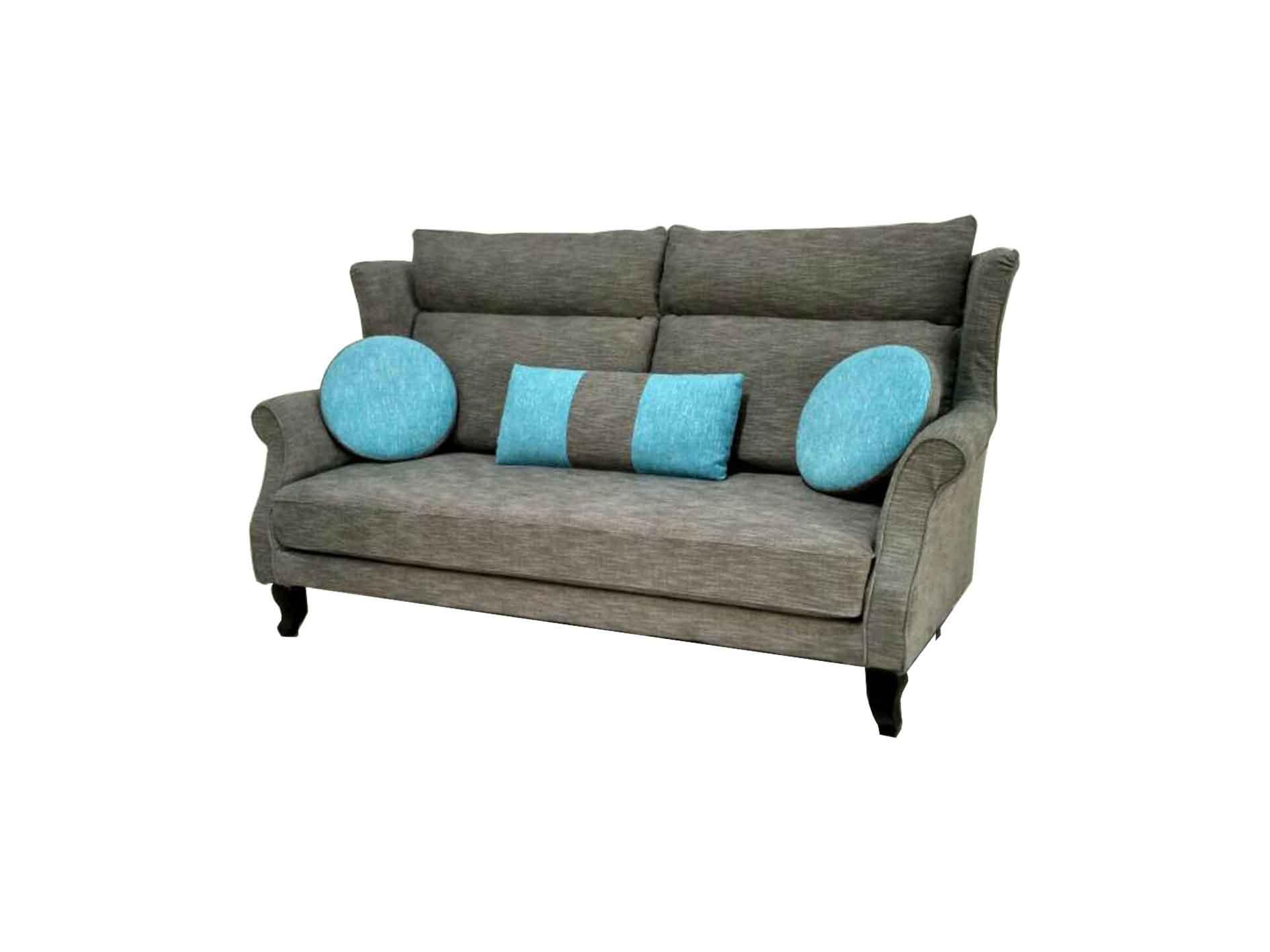 Valerio Designer Italian Fabric Sofa Fiore 3 Seater